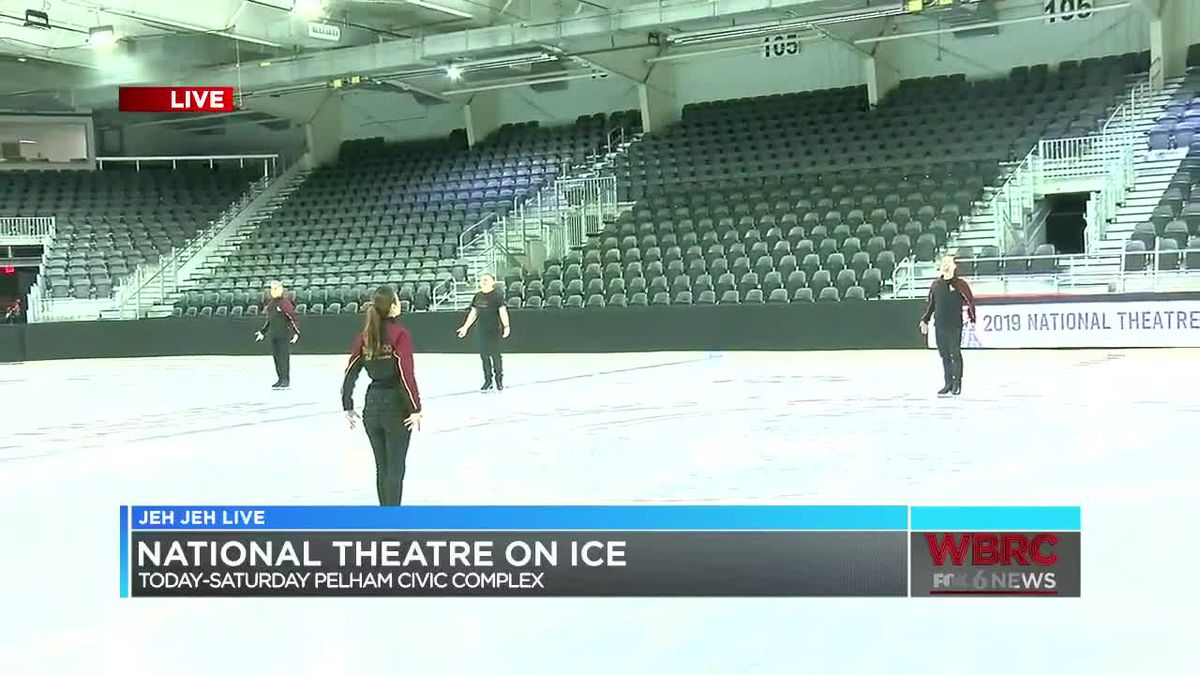 Don't miss National Theatre on Ice!