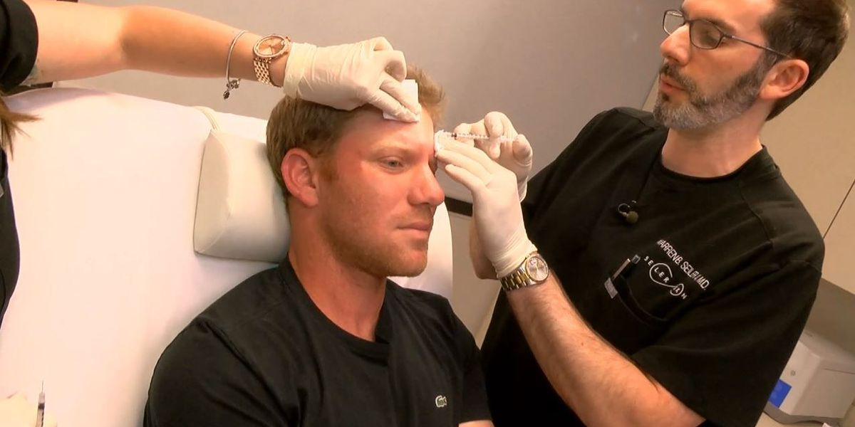 More men turning to 'Brotox' for more youthful look