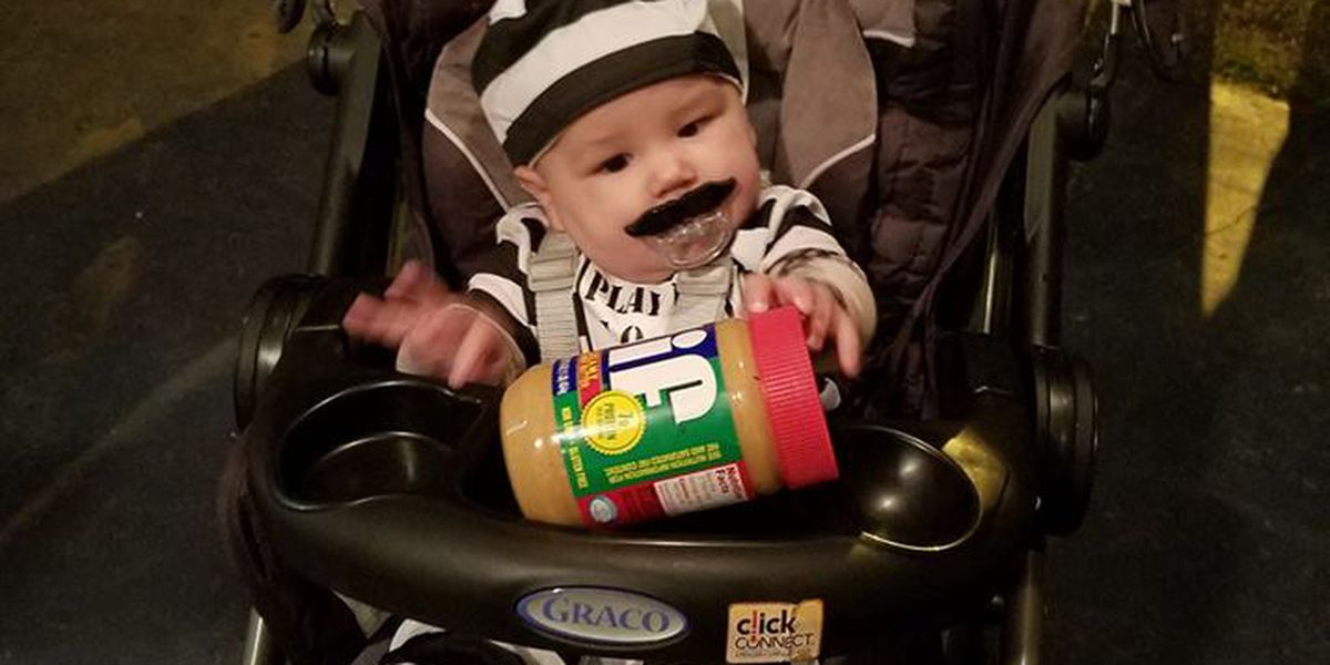 alabama baby wins halloween with peanut butter inmate escapee costume