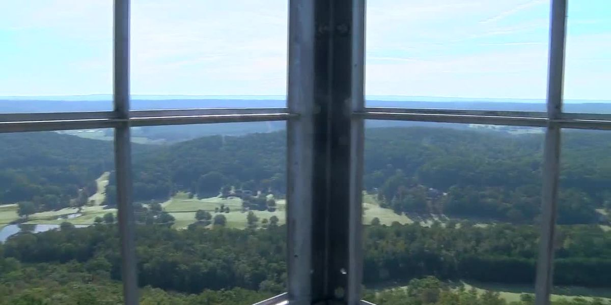 Absolutely Alabama: Sand Mountain Lookout Tower