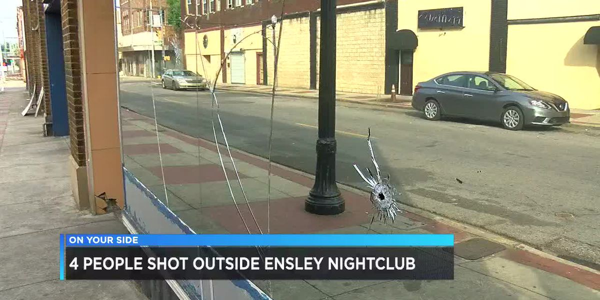 4 people shot outside Ensley nightclub