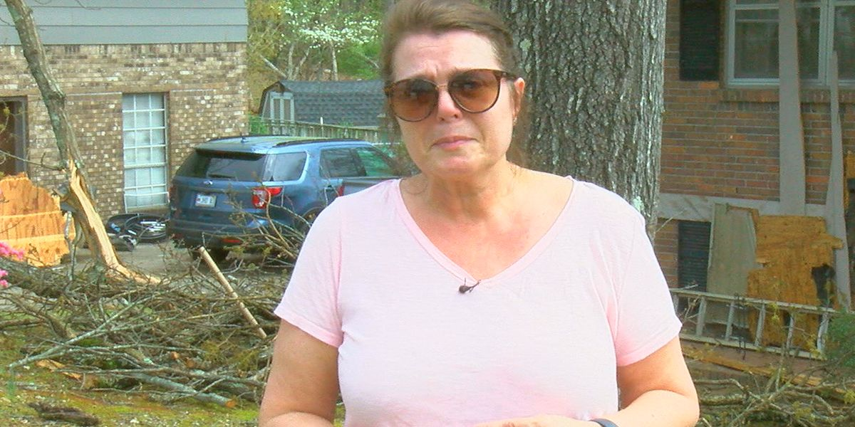 Pelham woman, still grieving the loss of her husband, now has to deal with tornado damage done to her home