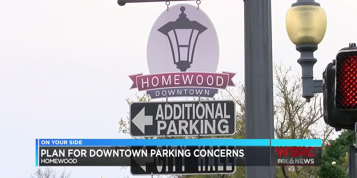 Plan for downtown Homewood parking concerns