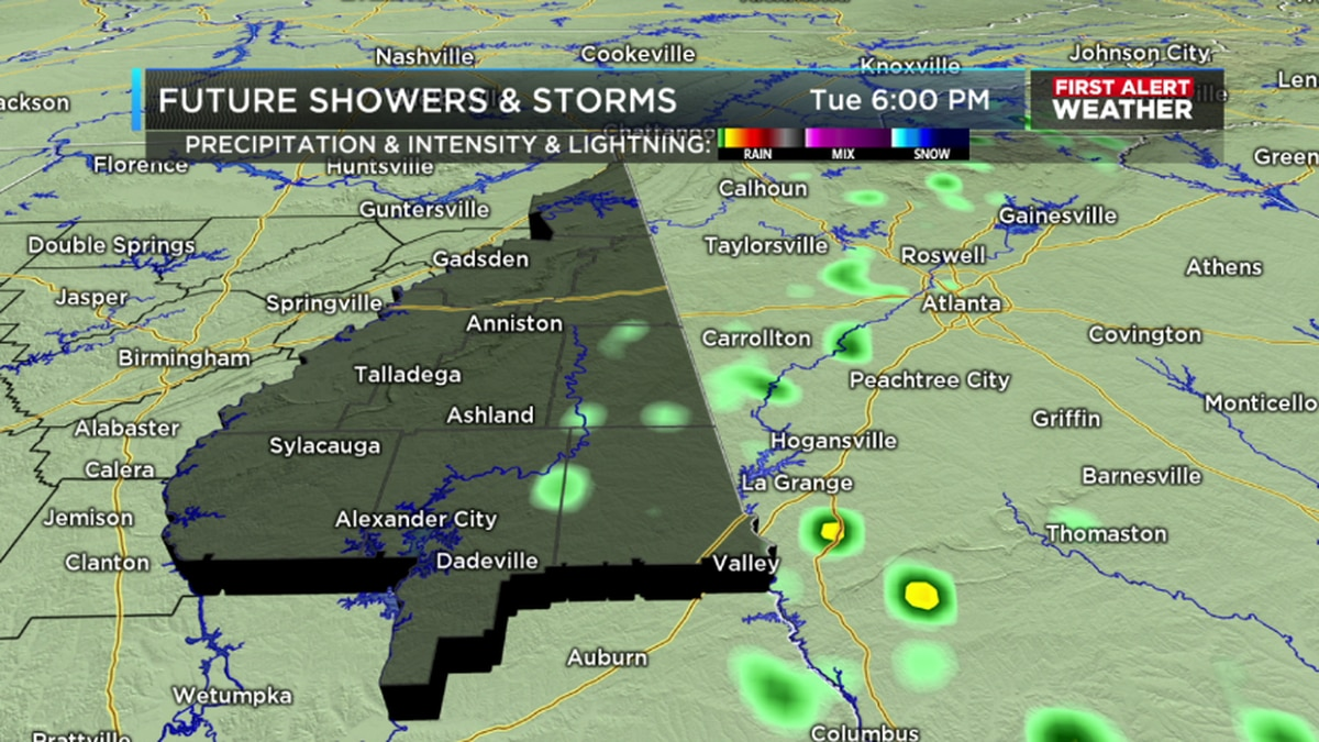 Colder night with patchy frost to the far north, rain & storms this weekend