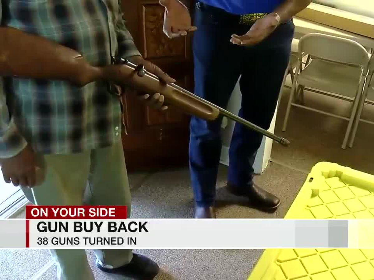 Local organization helps recover dozens of guns for Birmingham Police