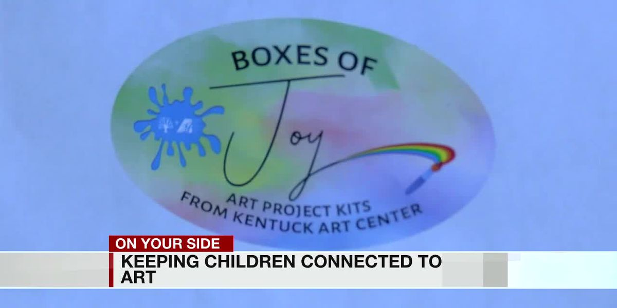 Monthly art boxes helping kids get through 2nd summer of the pandemic