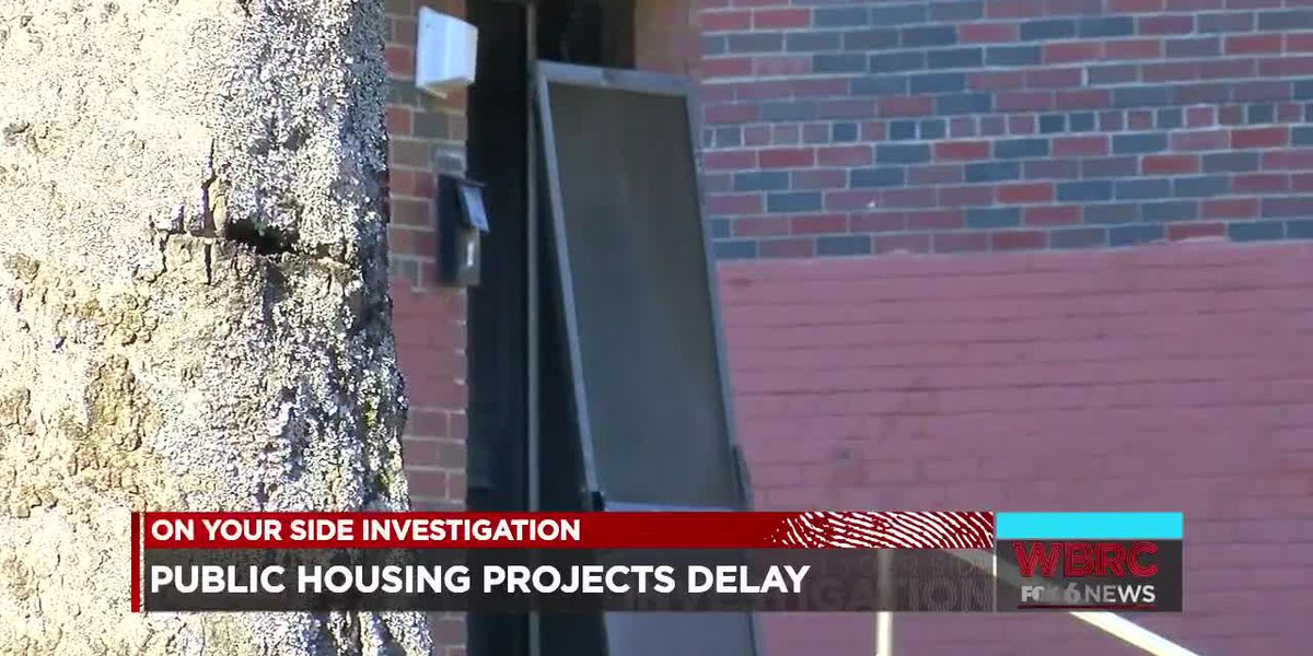 Public housing projects delay