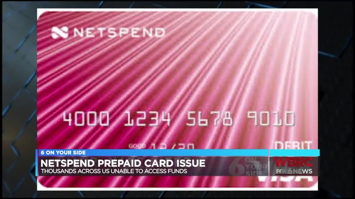 netspend prepaid card issue - Netspend Prepaid Card