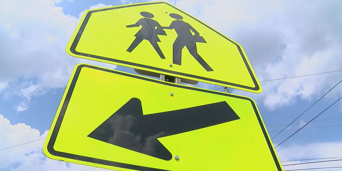 Safe driving at school crossings
