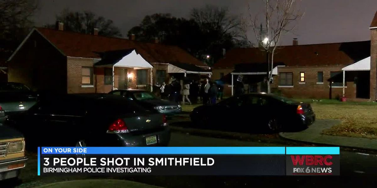 3 People shot in Smithfield