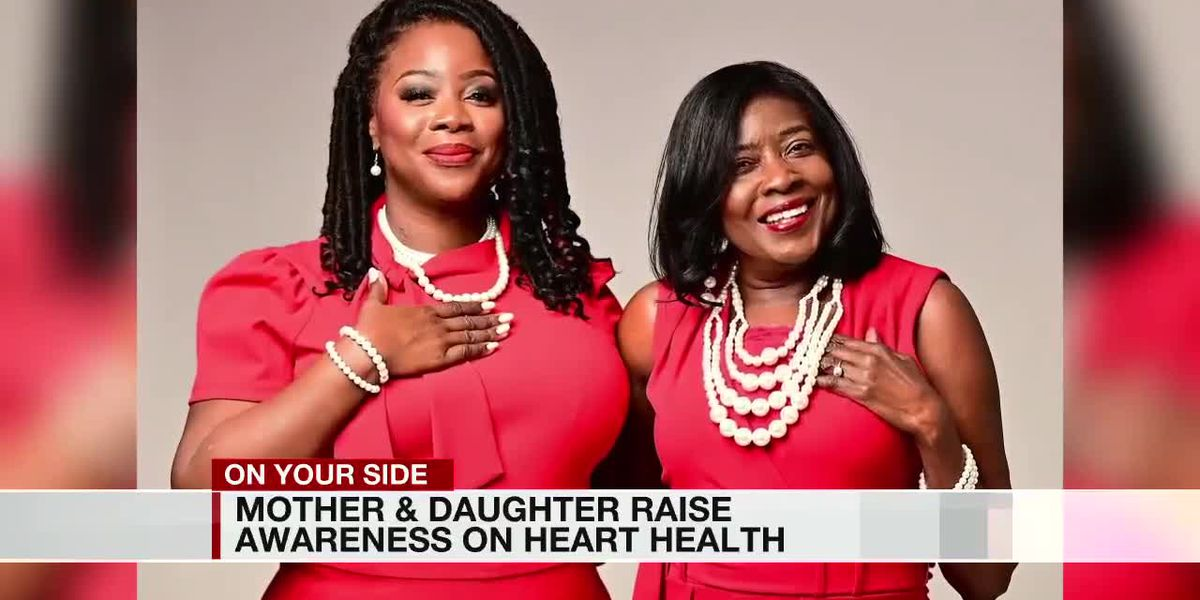 Mother and daughter raise awareness on heart health