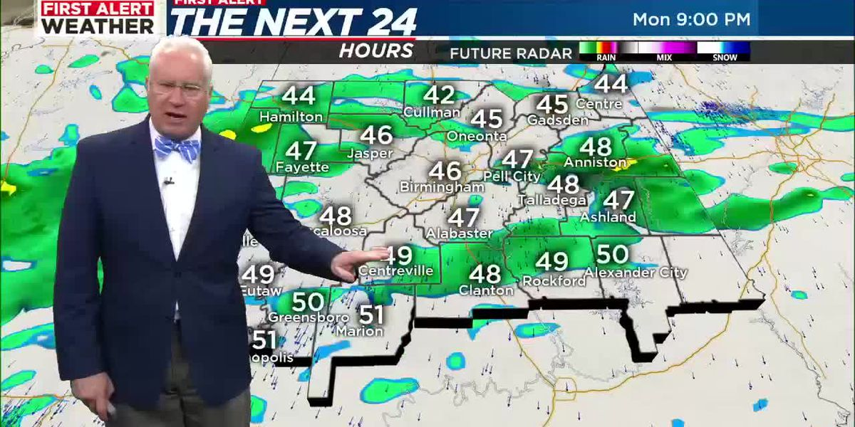 First Alert Weather 4am update 3-1-21
