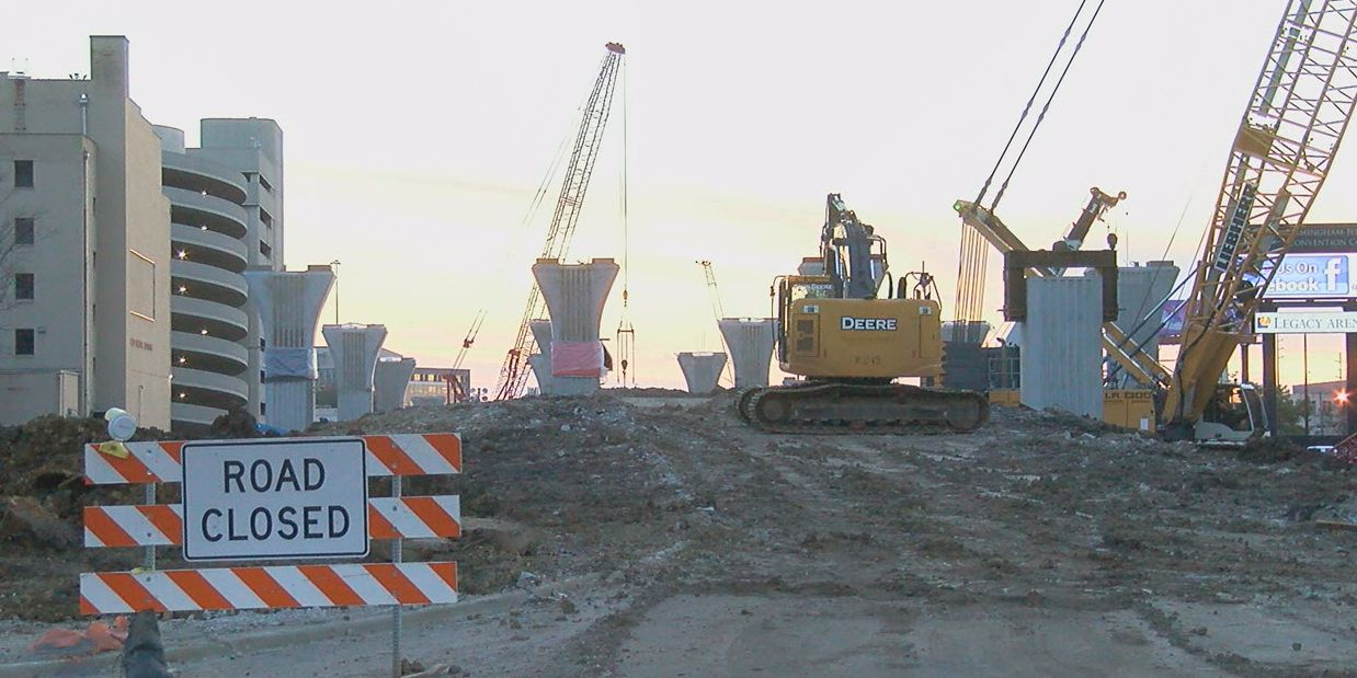Construction on 59/20 bridges to start next week