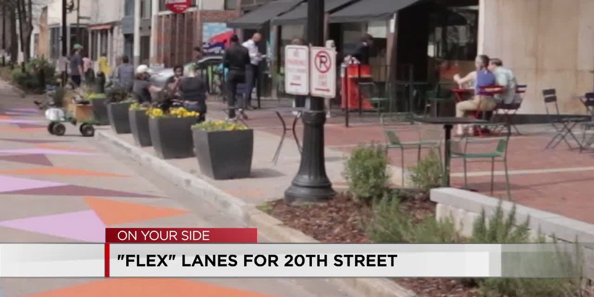 Flex lanes coming to 20th St