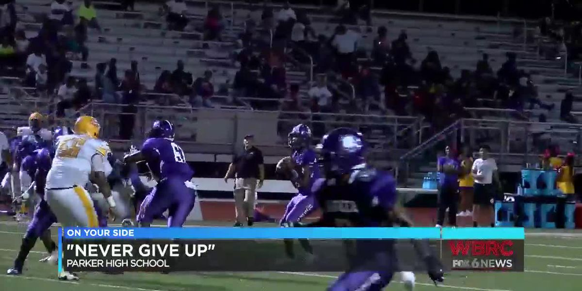 """Parker High School: """"Never Give Up"""""""