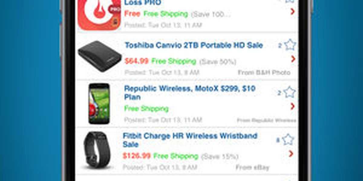 5 holiday savings apps and websites that could save you time and money