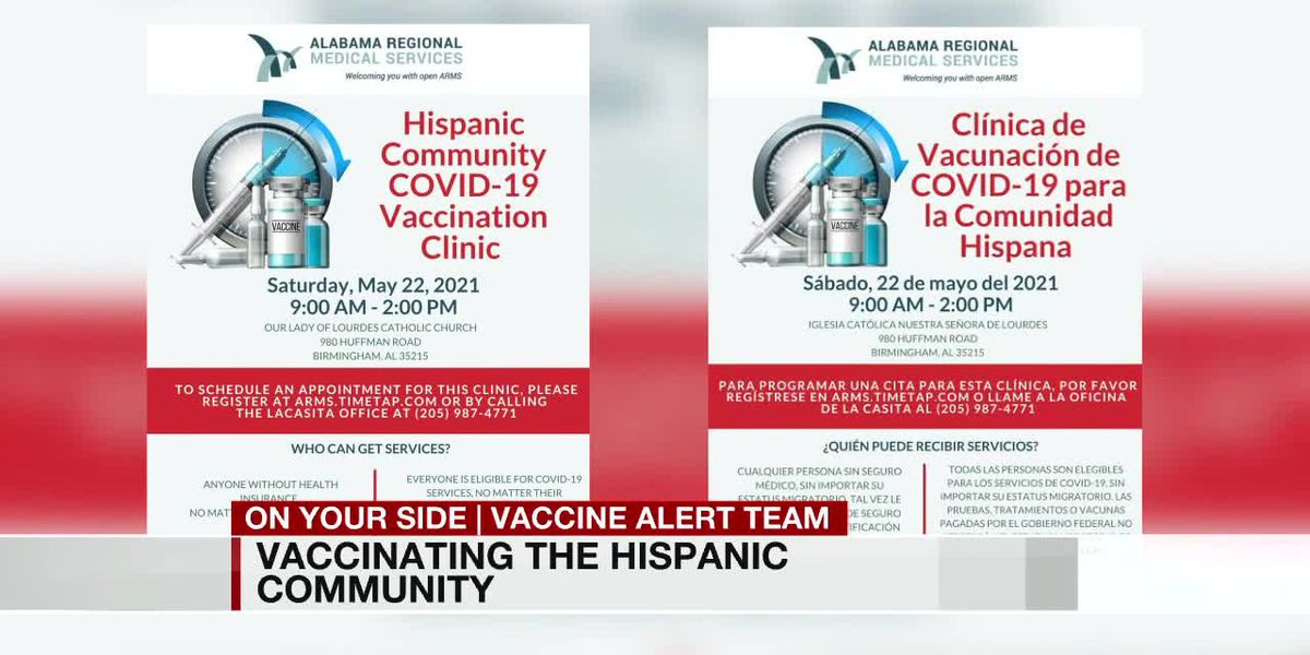 Vaccinating the Hispanic community for COVID