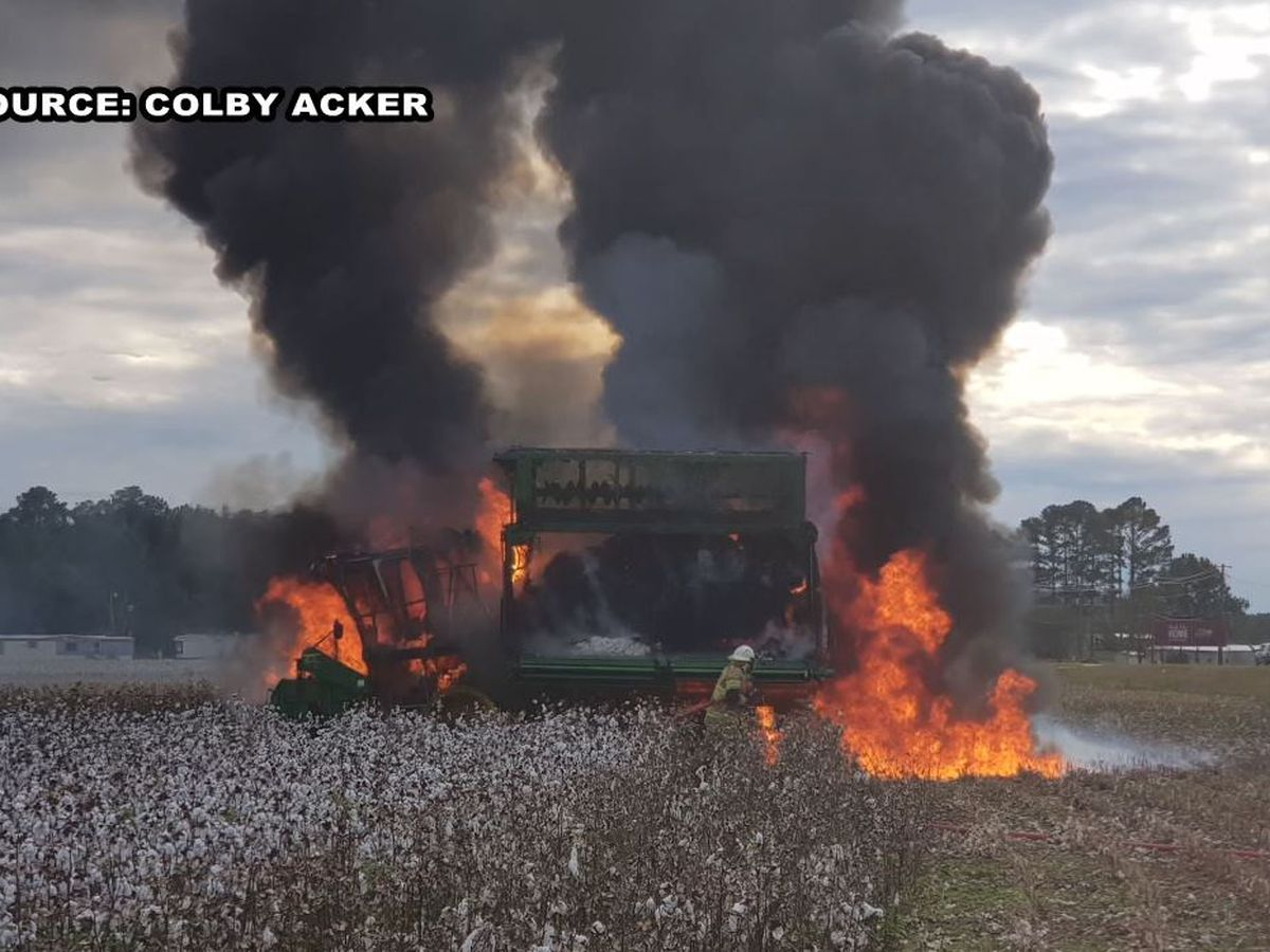 Cotton farm suffers loss after fire