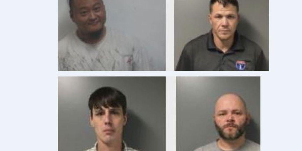 4 men arrested in meth trafficking enterprise in St. Clair County