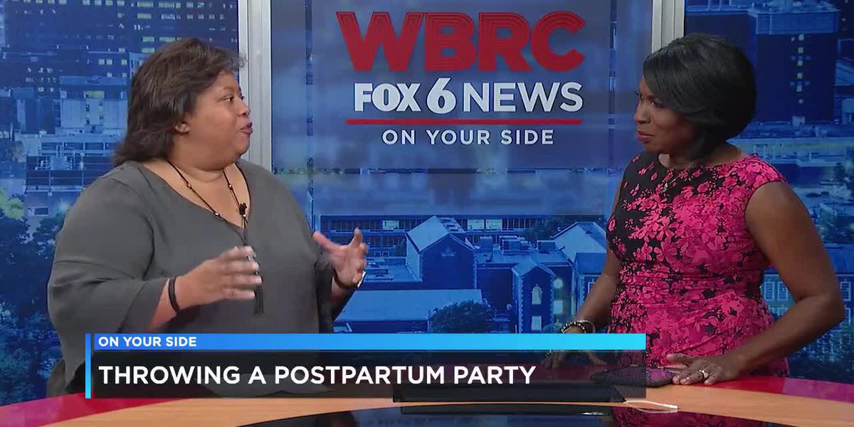 Throwing a postpartum party