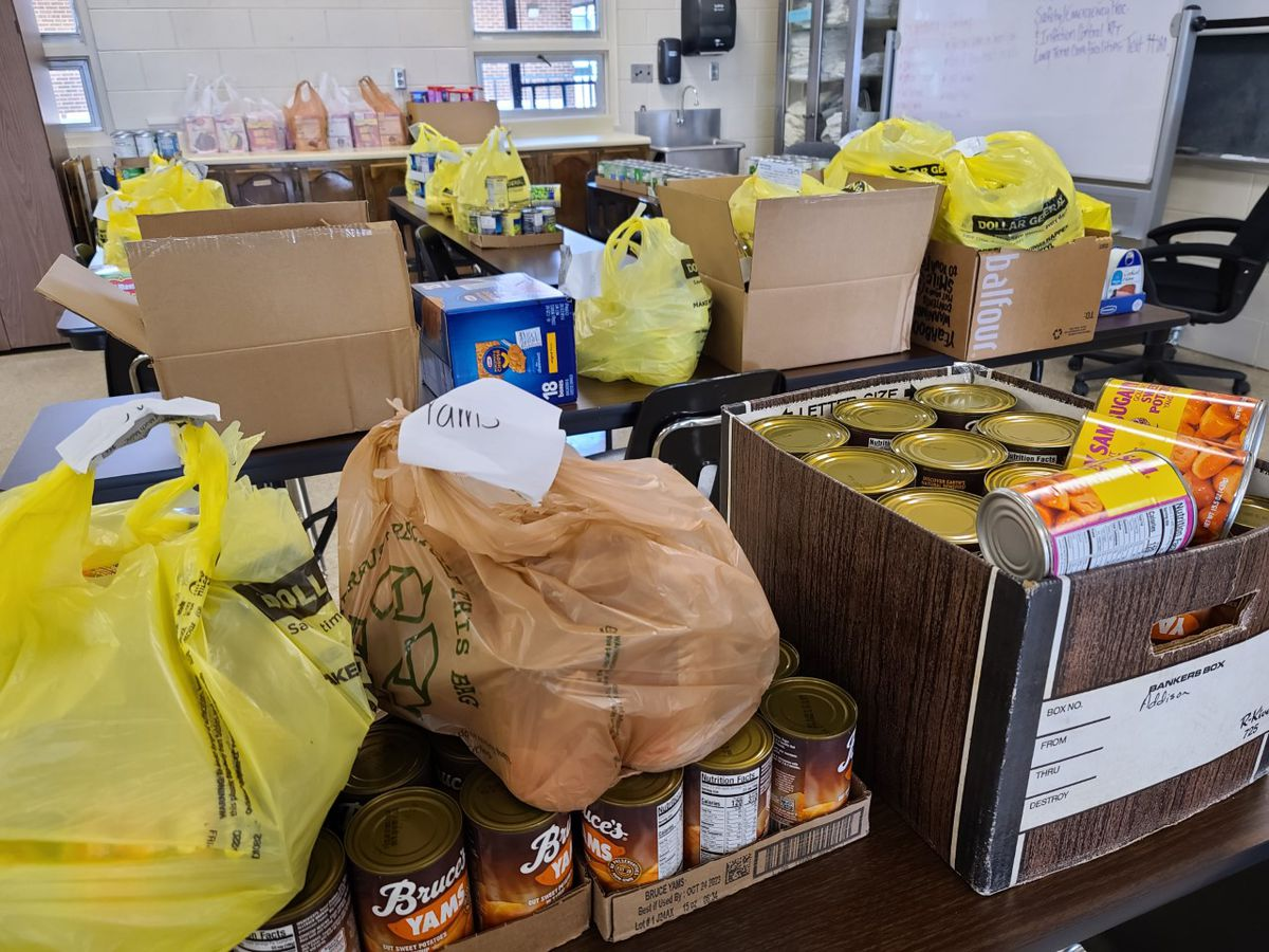 Cullman Co. students box up food and toiletries for families in need