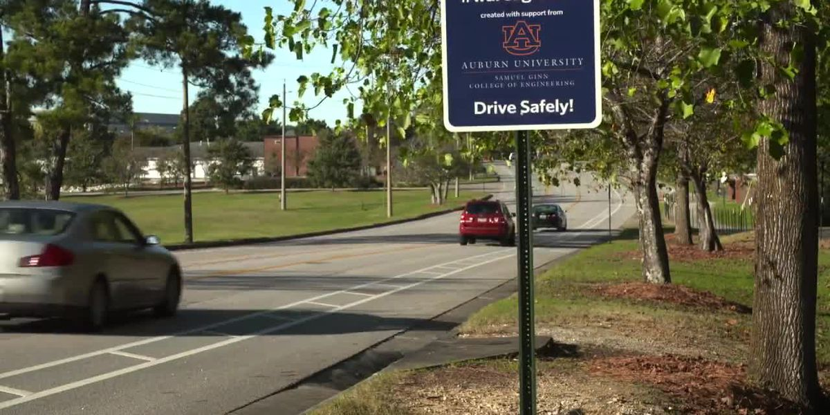 """War Eagle!"" Have you heard Auburn's new musical road?"