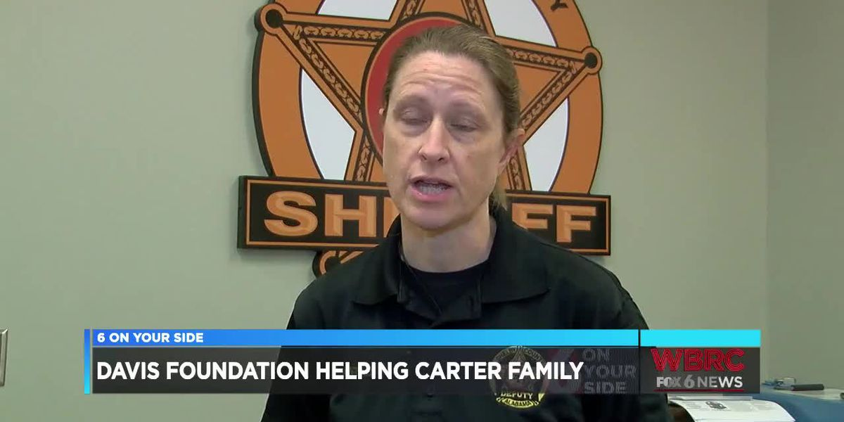 Davis Foundation to help Sgt. Carter's family