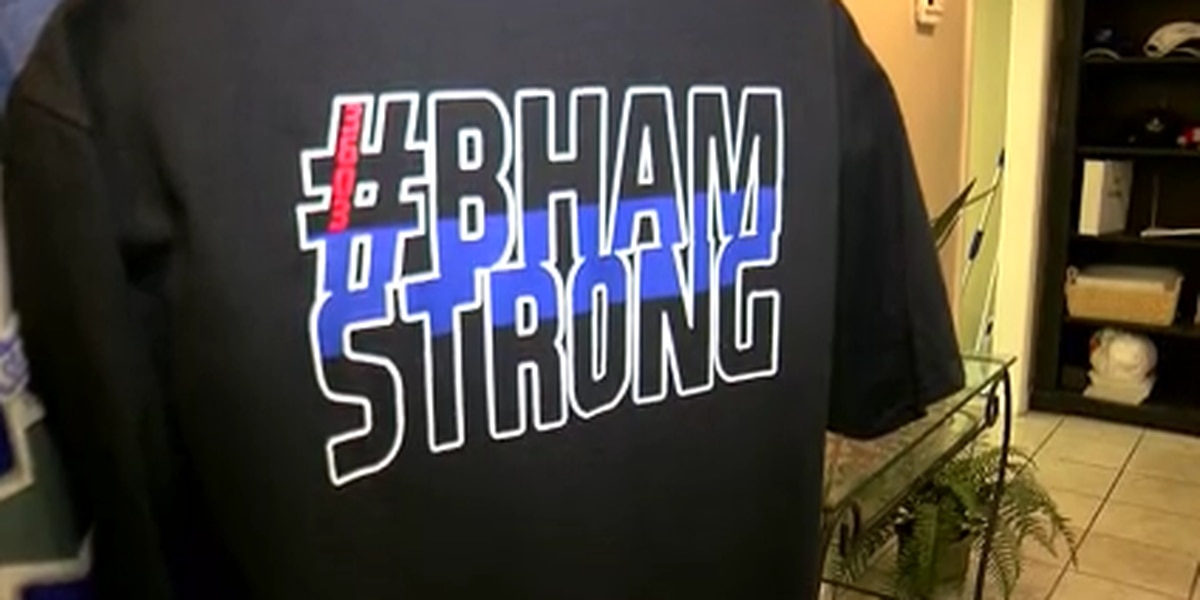 Fultondale business creates #BHAMSTRONG shirts to support law enforcement after fatal shooting