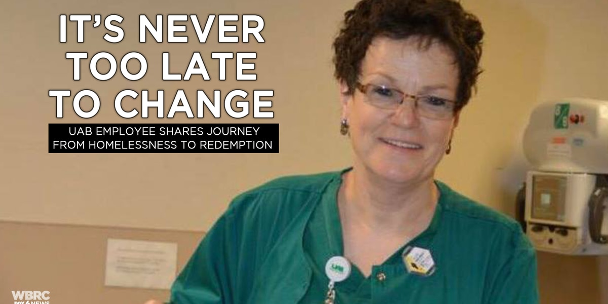 It's never too late to change: UAB employee shares journey from homelessness to redemption