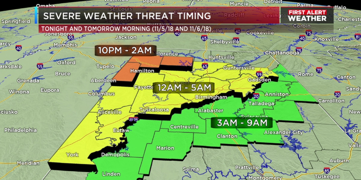 First Alert Weather Day: Severe Weather Central