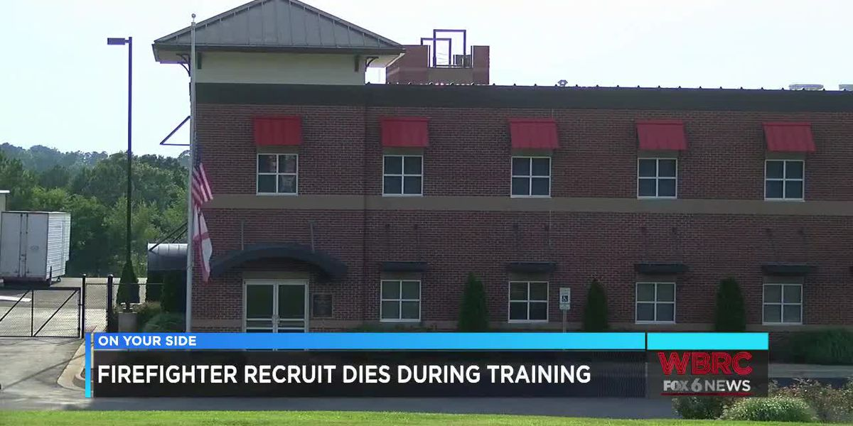 Firefighter recruit dies during training