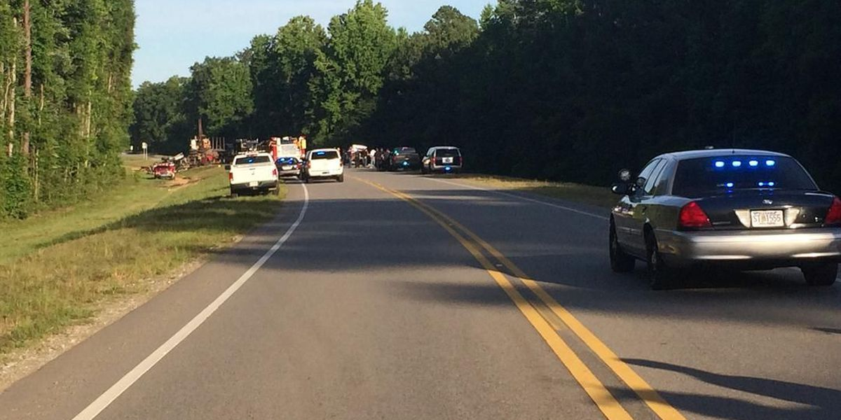Clare Huddleston has new information at 5 a.m. on a deadly wreck in Chilton Co.