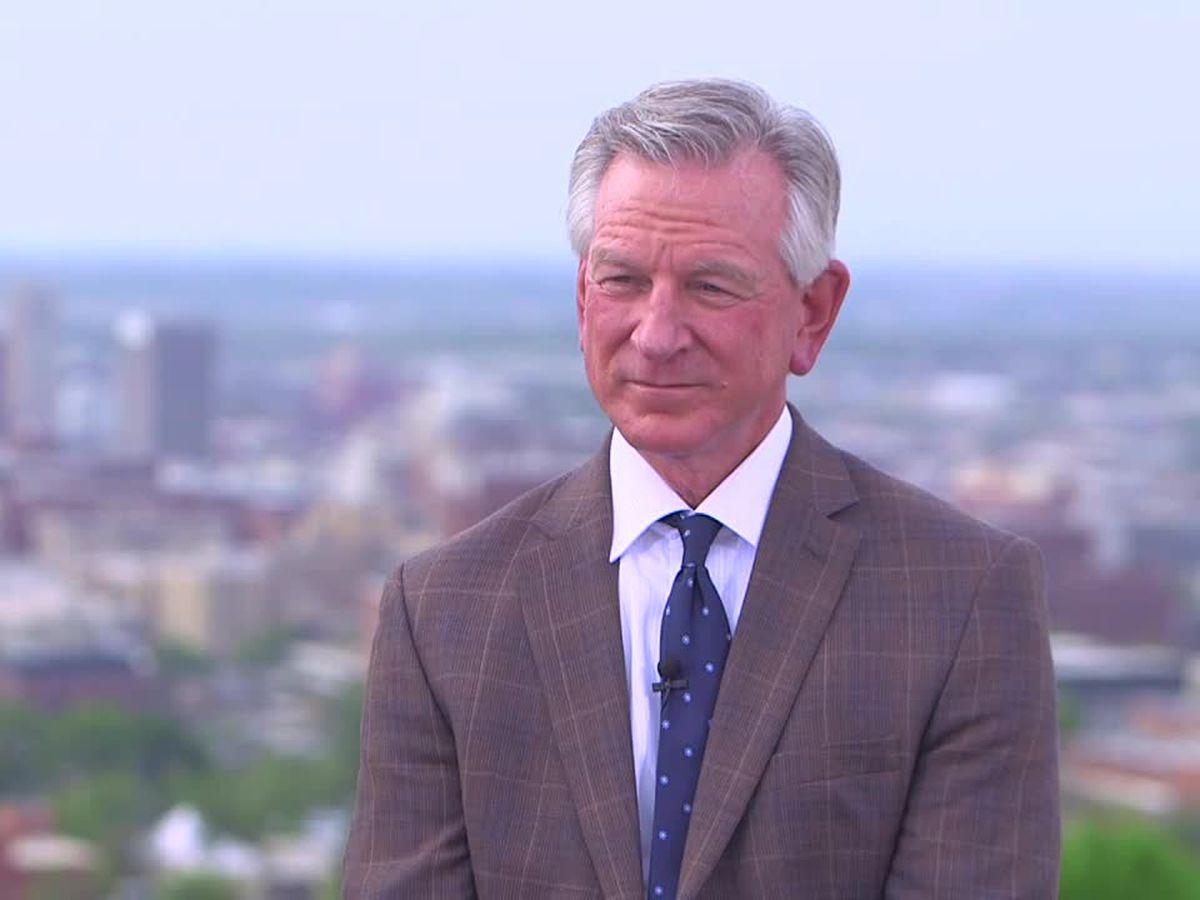 Senator Tommy Tuberville visits metro Birmingham, answers questions