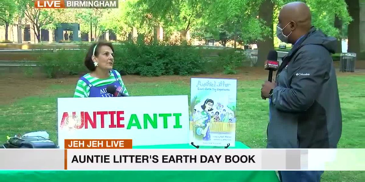 Jeh Jeh Live: Auntie Litter's Earth Day book