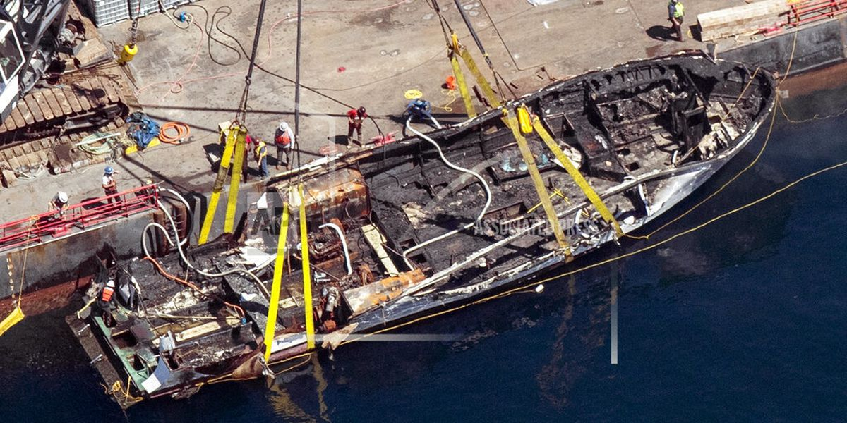 Widow sues boat owner in fire off California that killed 34