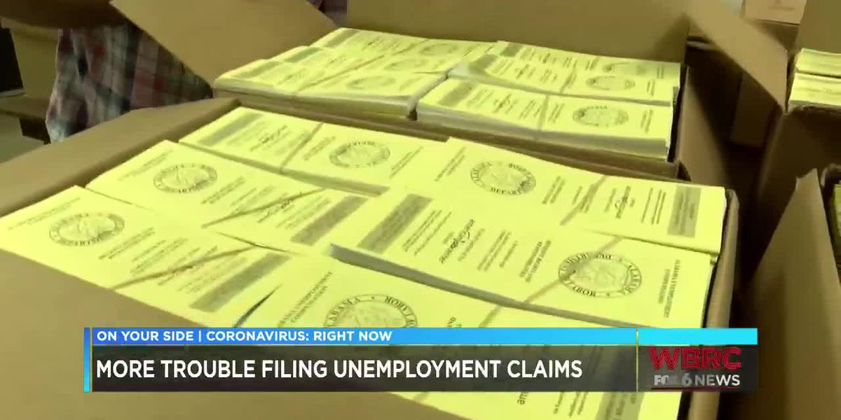 Problems with unemployment claims continue