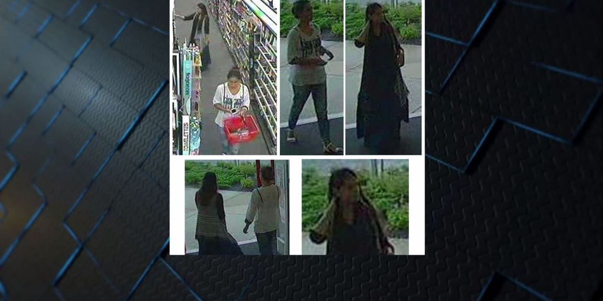 Hoover PD searching for gang of razor thieves