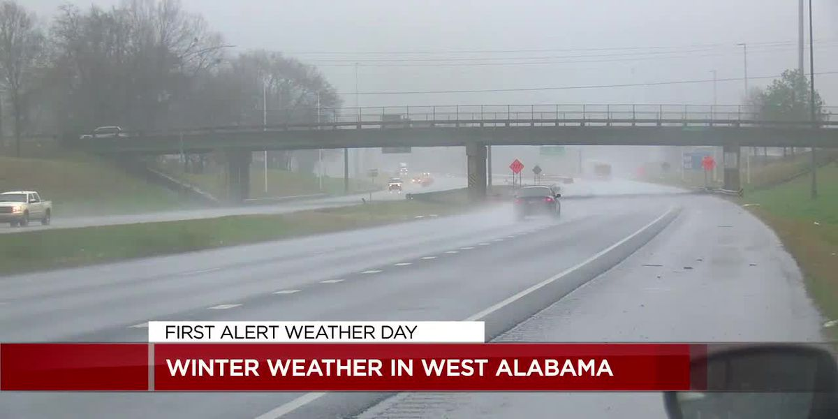 Many roads closed during First Alert Weather event in west Alabama