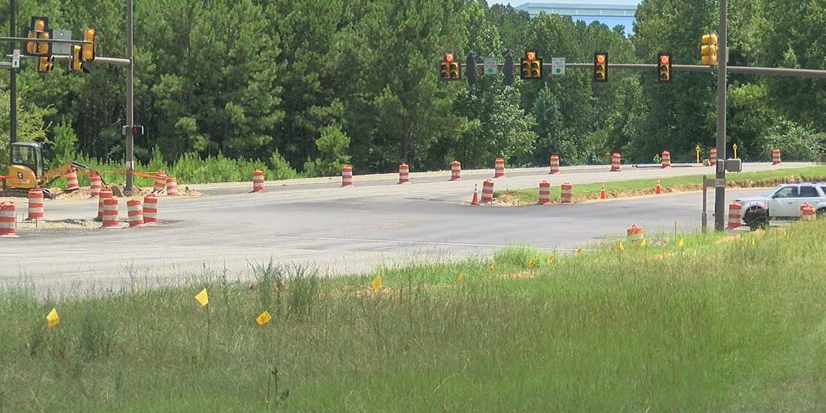 Hoover road construction completion date moved back