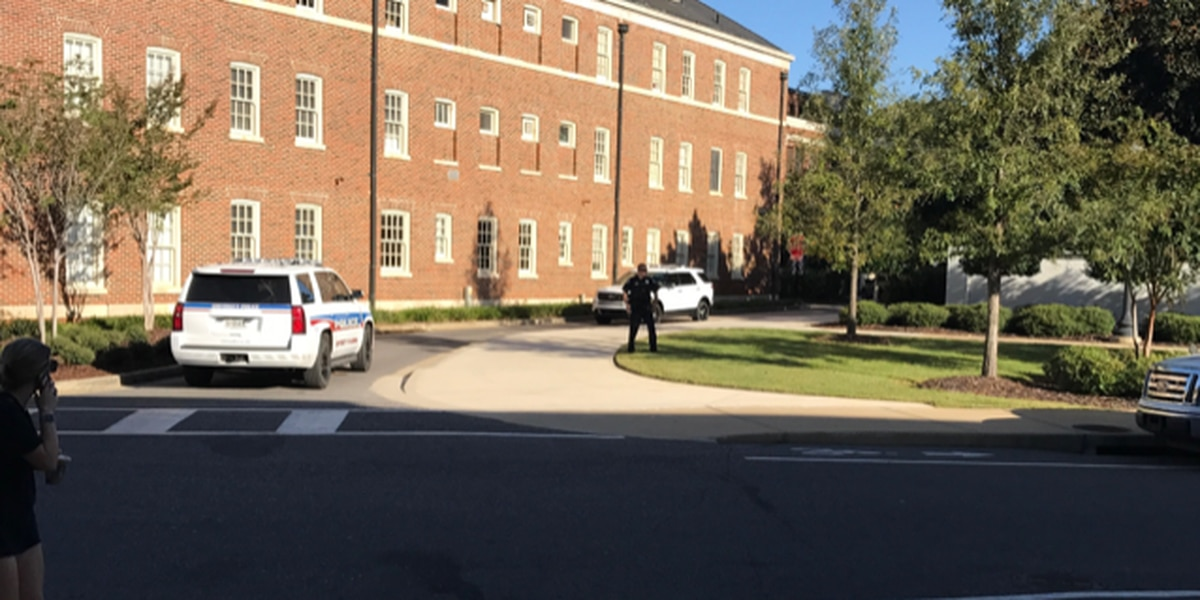 All-clear given at UA after suspicious package report
