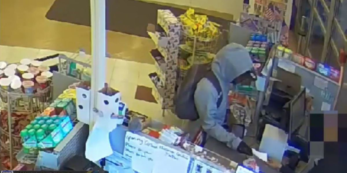 'I'm sorry, I have a sick child;' Philly robber hands note to cashier