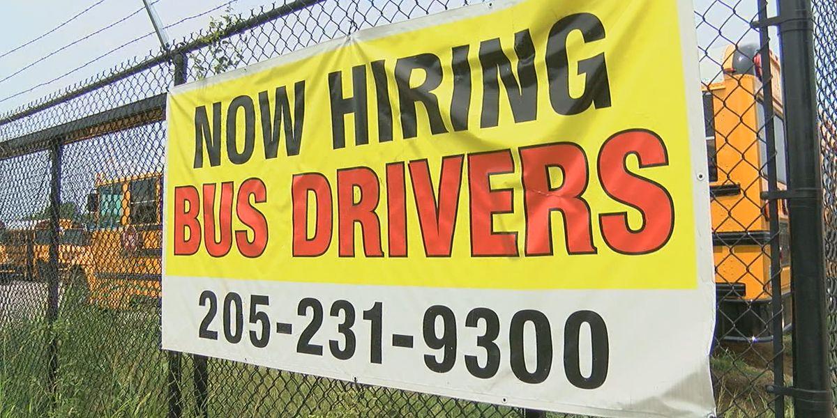 Bus driver shortage for Birmingham City Schools