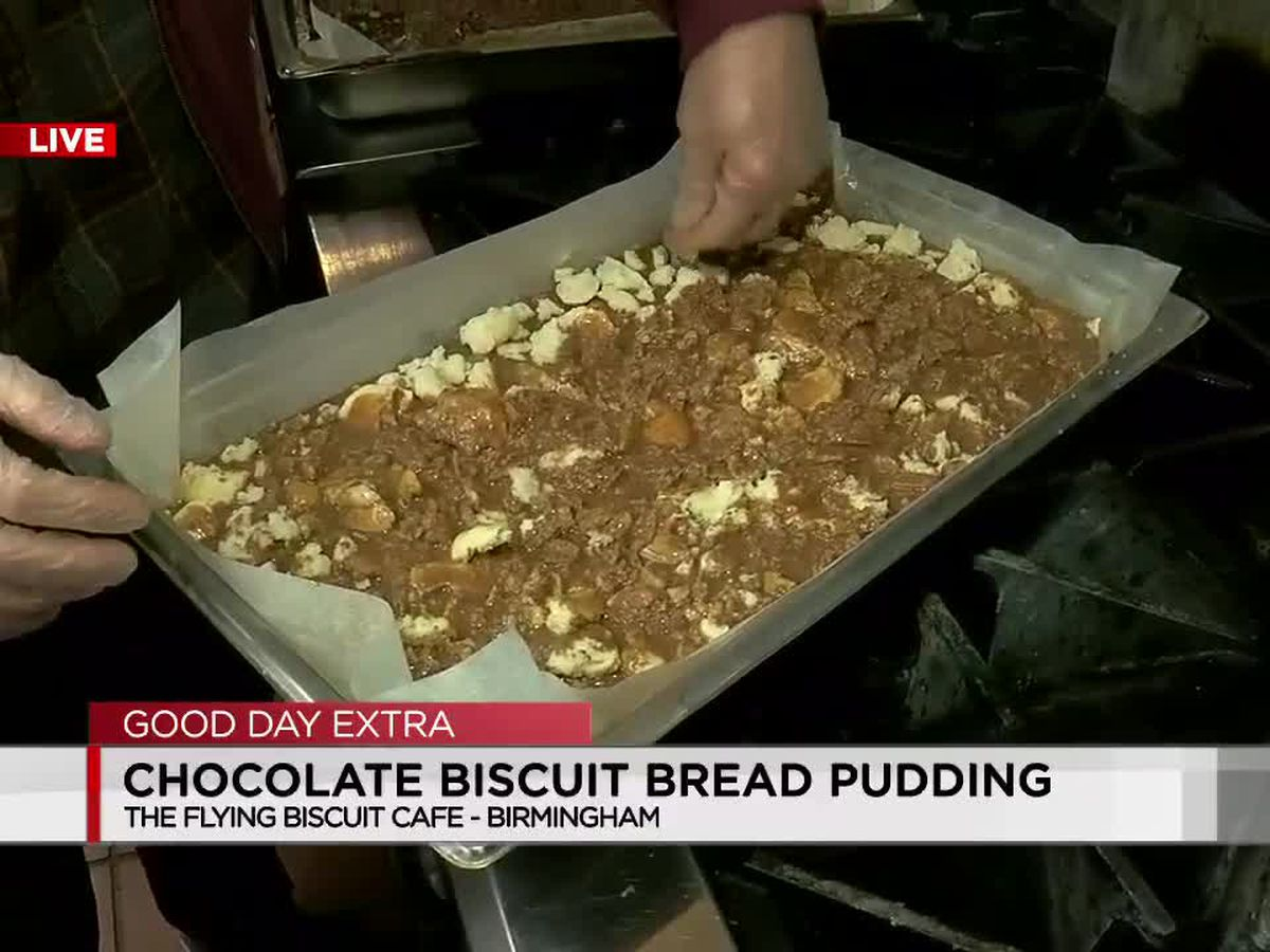 Flying Biscuit Cafe: Chocolate Biscuit Bread Pudding