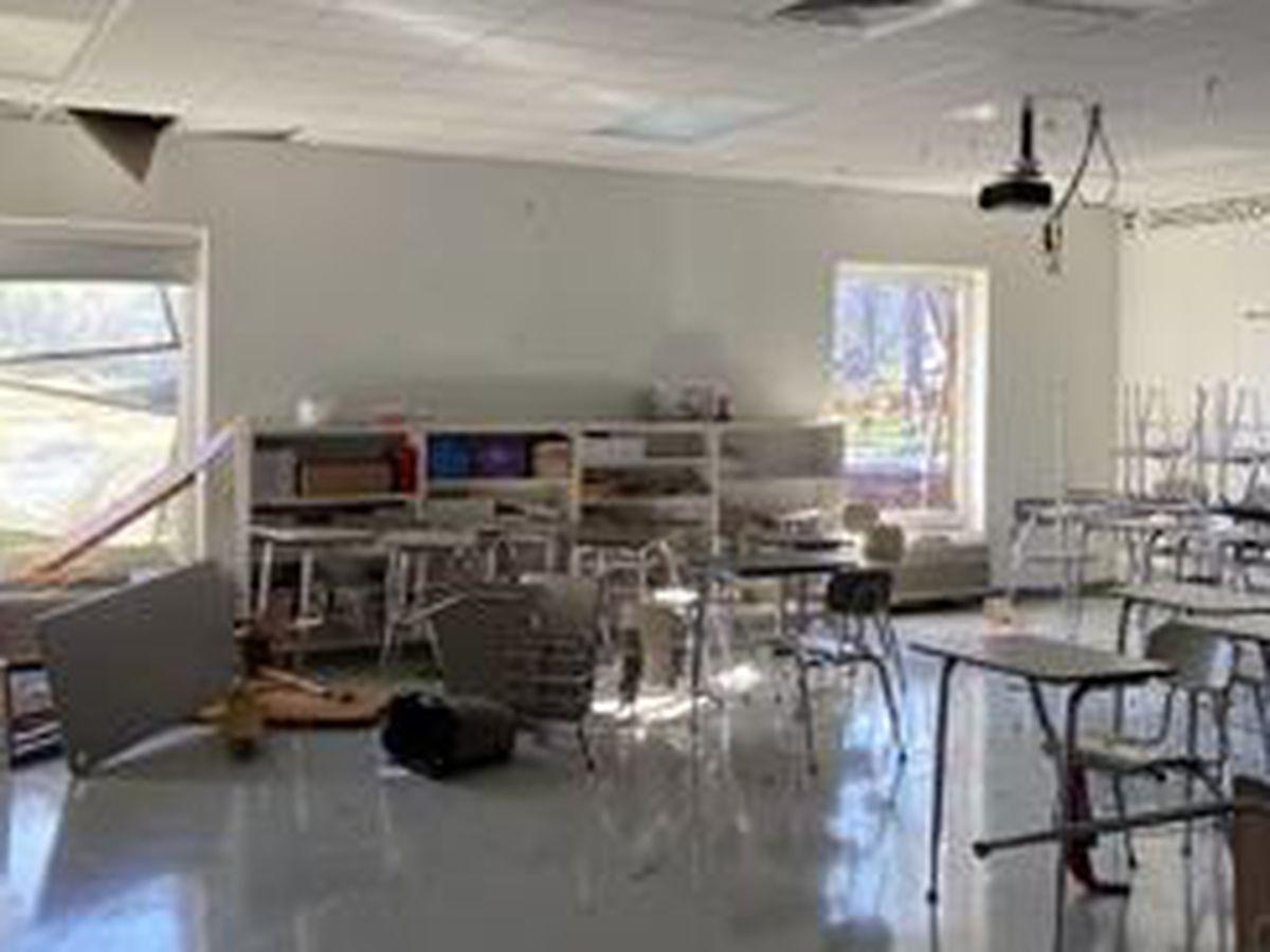 Oak Mountain Middle School will reopen April 19