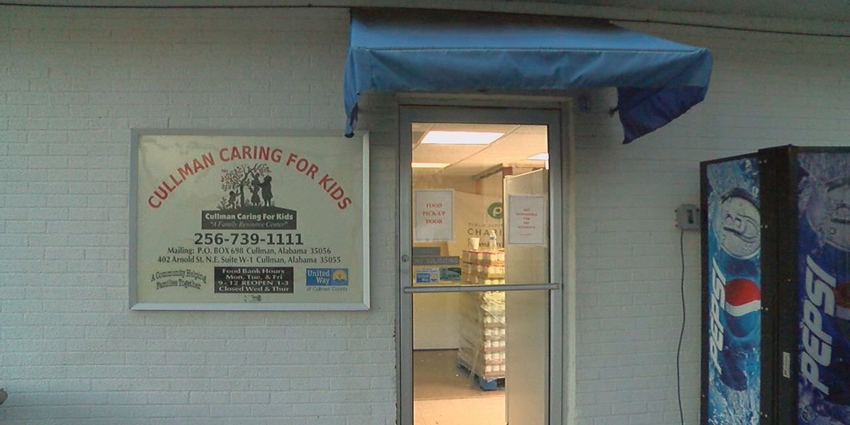 Cullman Caring for Kids food pantry reopens after flood