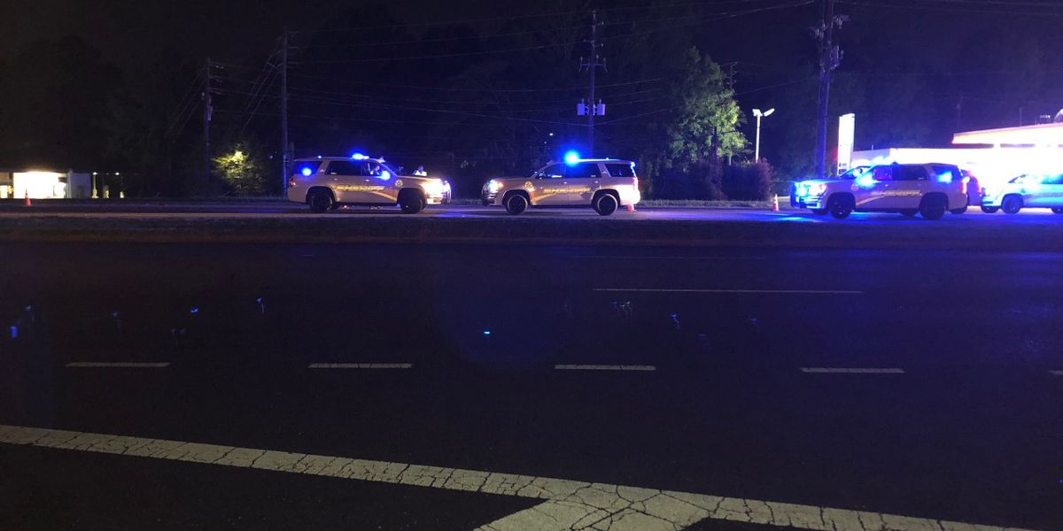 Pedestrian hit and killed Wednesday night on U.S. 280