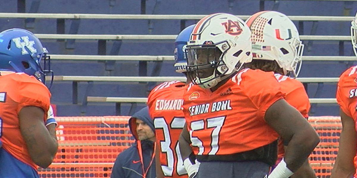 Auburn LB Deshaun Davis looks to prove he's NFL ready at Senior Bowl