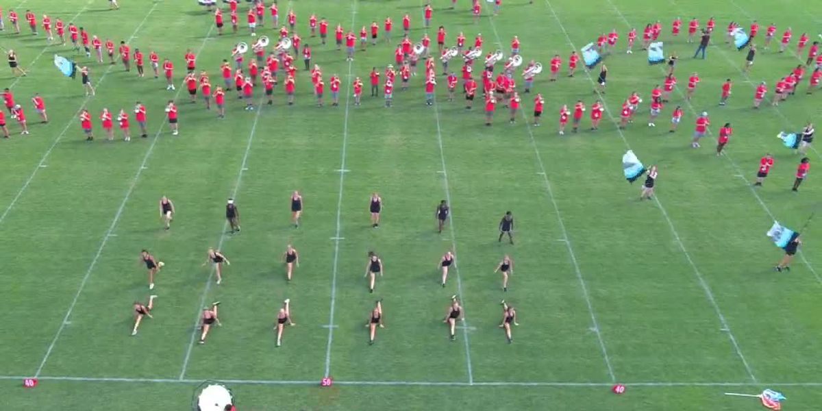 VIDEO; Hewitt-Trussville marching band