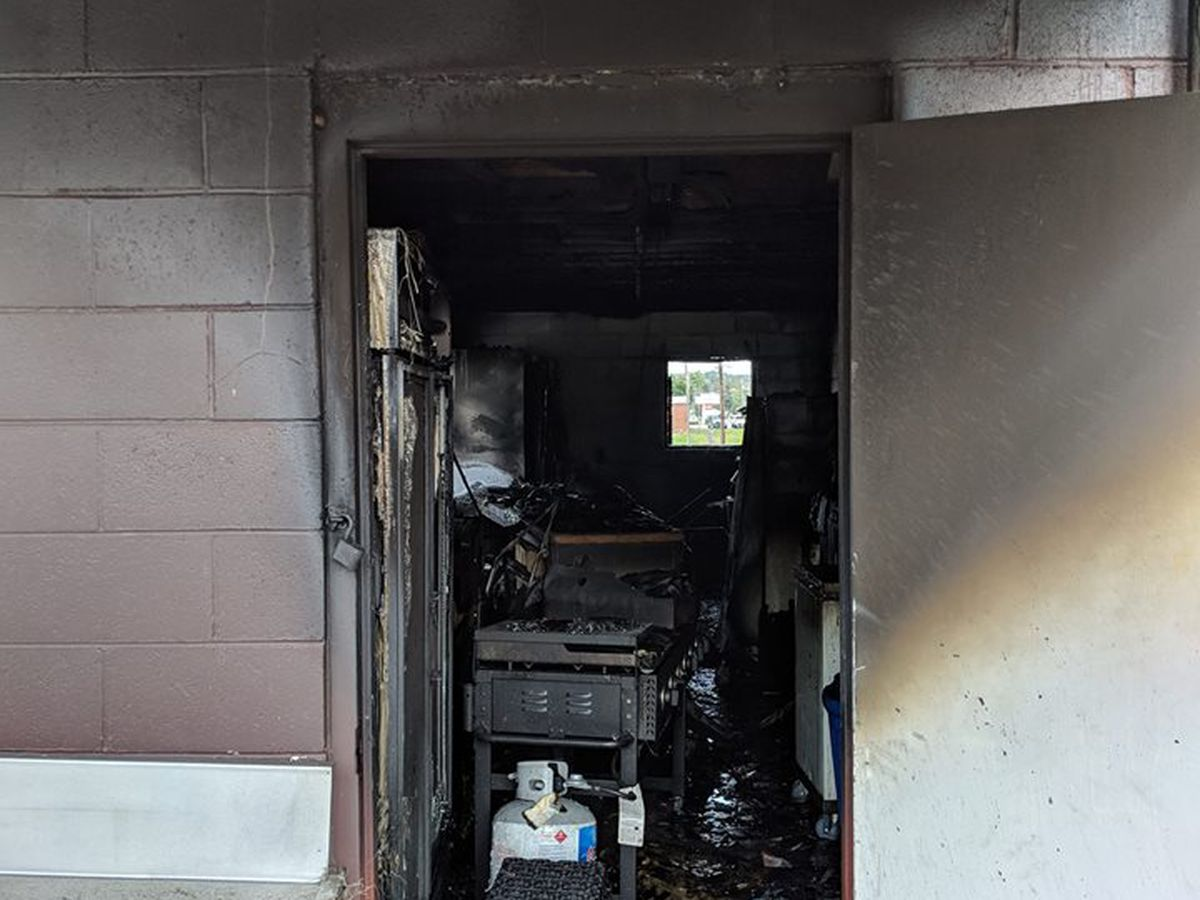 Investigation underway after fire at St. Clair Co. HS concession stand