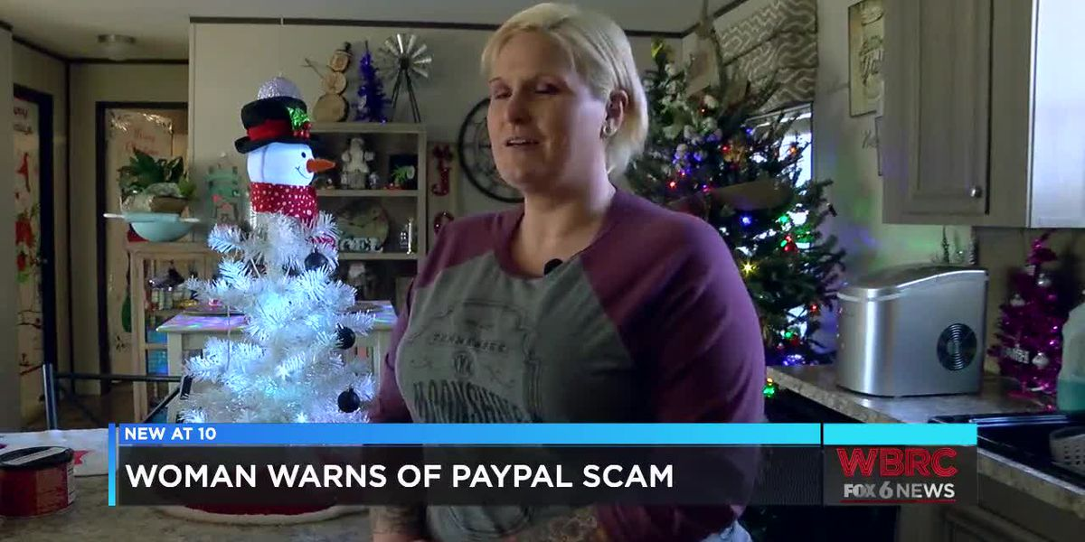 Woman warns of PayPal scam